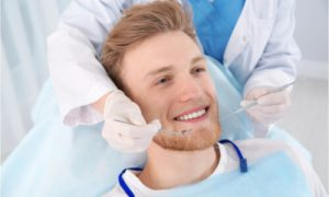 The patient wants to know about gum surgery recovery.