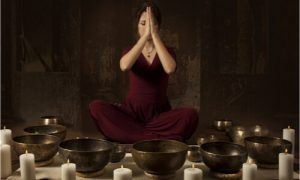 yoga and healing sounds