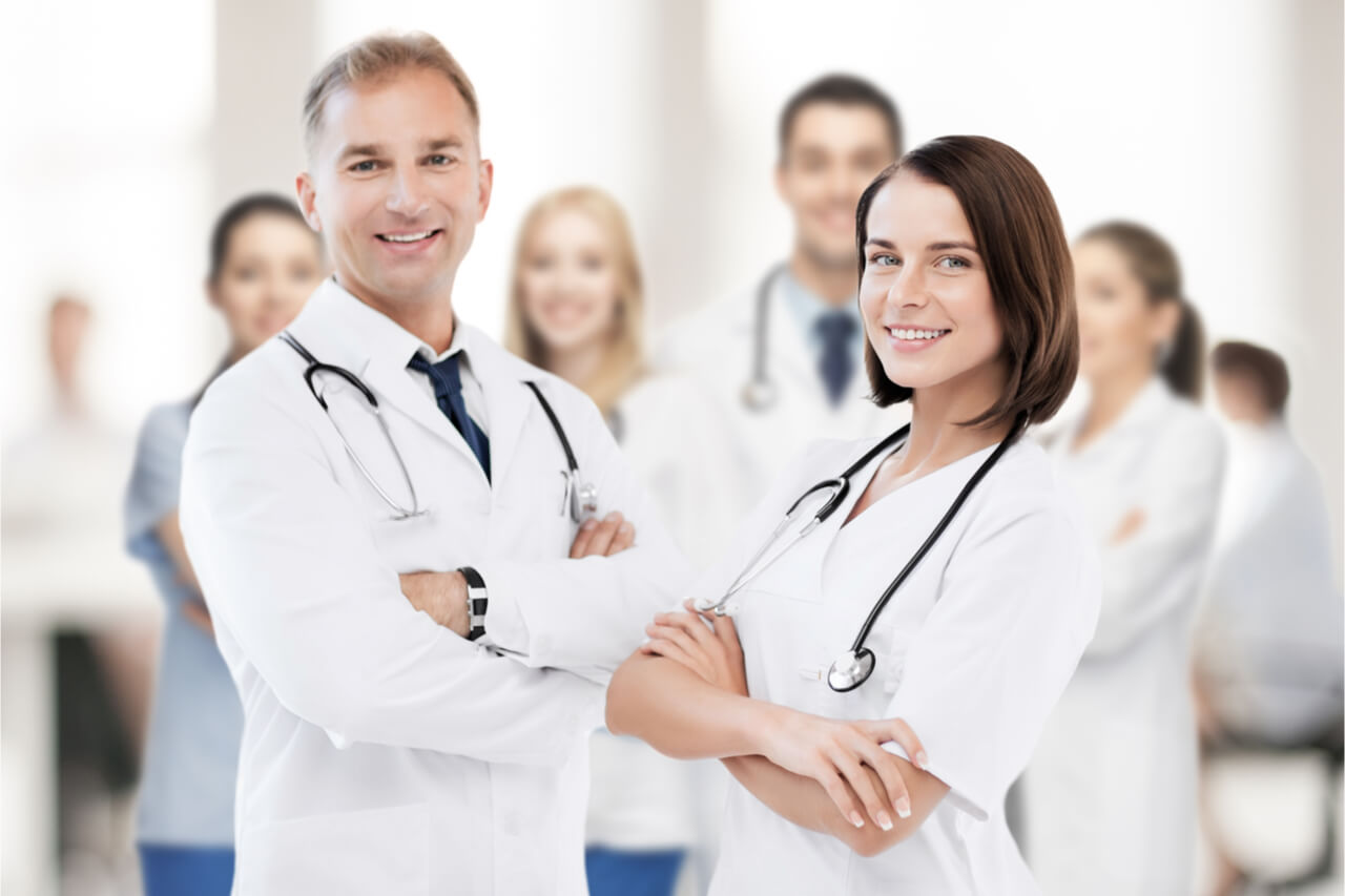 Different types of health care professionals